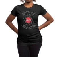 Never Trust An Atom - womens-regular-tee - small view