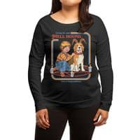 Caring for Your Hell Hound - womens-long-sleeve-terry-scoop - small view