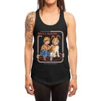 Caring for Your Hell Hound - womens-racerback-tank - small view