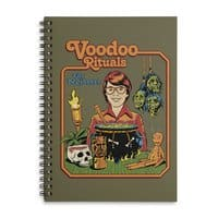 Voodoo Rituals for Beginners - spiral-notebook - small view