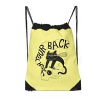 Watch Your Back - drawstring-bag - small view