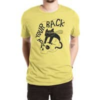 Watch Your Back - mens-extra-soft-tee - small view