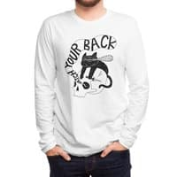 Watch Your Back - mens-long-sleeve-tee - small view