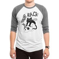 Watch Your Back - triblend-34-sleeve-raglan-tee - small view
