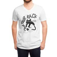Watch Your Back - vneck - small view
