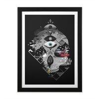 Old Gods, New Demons - black-vertical-framed-print - small view