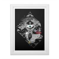Old Gods, New Demons - white-vertical-framed-print - small view