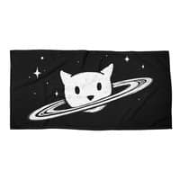 Saturn the Cat - beach-towel-landscape - small view