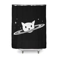 Saturn the Cat - shower-curtain - small view
