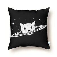 Saturn the Cat - throw-pillow - small view