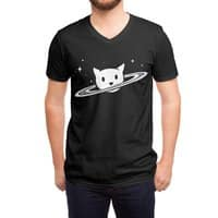 Saturn the Cat - vneck - small view