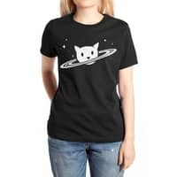 Saturn the Cat - womens-extra-soft-tee - small view