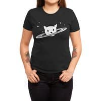 Saturn the Cat - womens-triblend-tee - small view