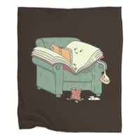 book reads - blanket - small view