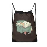 book reads - drawstring-bag - small view