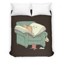 book reads - duvet-cover - small view