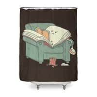book reads - shower-curtain - small view