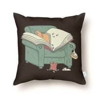 book reads - throw-pillow - small view