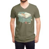 book reads - vneck - small view