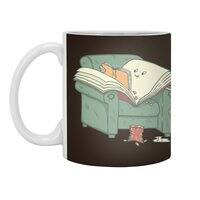 book reads - white-mug - small view