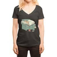 book reads - womens-deep-v-neck - small view