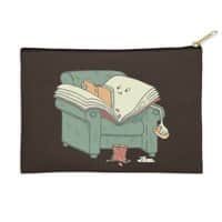 book reads - zip-pouch - small view