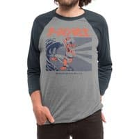 Wave Warrior - triblend-34-sleeve-raglan-tee - small view