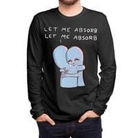 Strange Planet: Let Me Absorb - mens-long-sleeve-tee - small view