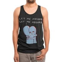Strange Planet: Let Me Absorb - mens-triblend-tank - small view