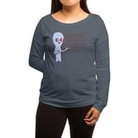 Strange Planet: Science - womens-long-sleeve-terry-scoop - small view