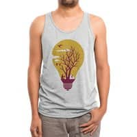 Unwind - mens-triblend-tank - small view