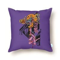Exploded Skullborg - throw-pillow - small view