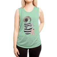 Not This Broadcast - womens-muscle-tank - small view