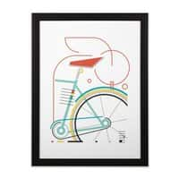 baucycle - black-vertical-framed-print - small view