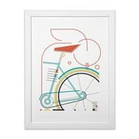 baucycle - white-vertical-framed-print - small view