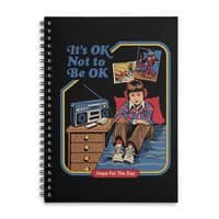 It's OK Not to Be OK - spiral-notebook - small view