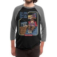 It's OK Not to Be OK - triblend-34-sleeve-raglan-tee - small view