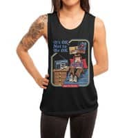 It's OK Not to Be OK - womens-muscle-tank - small view