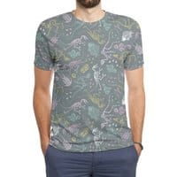 Dinosaurs - mens-sublimated-triblend-tee - small view
