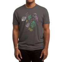 Dinosaurs - mens-triblend-tee - small view