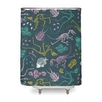 Dinosaurs - shower-curtain - small view