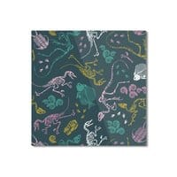 Dinosaurs - square-mounted-aluminum-print - small view