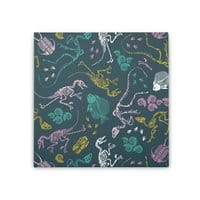 Dinosaurs - square-stretched-canvas - small view