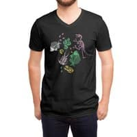 Dinosaurs - vneck - small view