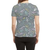 Dinosaurs - womens-sublimated-triblend-tee - small view