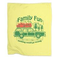 Family Fun - blanket - small view