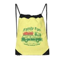 Family Fun - drawstring-bag - small view