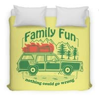 Family Fun - duvet-cover - small view