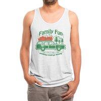 Family Fun - mens-triblend-tank - small view