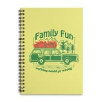 Family Fun - spiral-notebook - small view